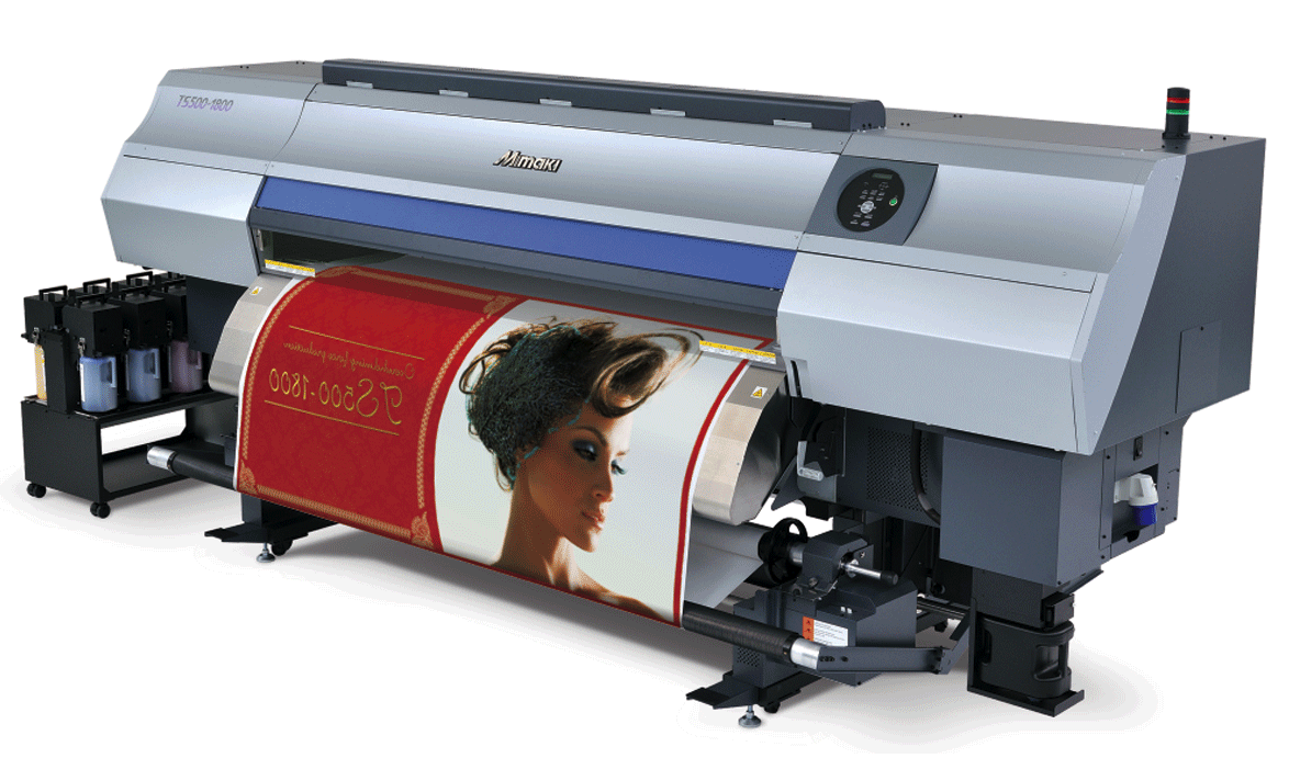 large format dye sublimation printing