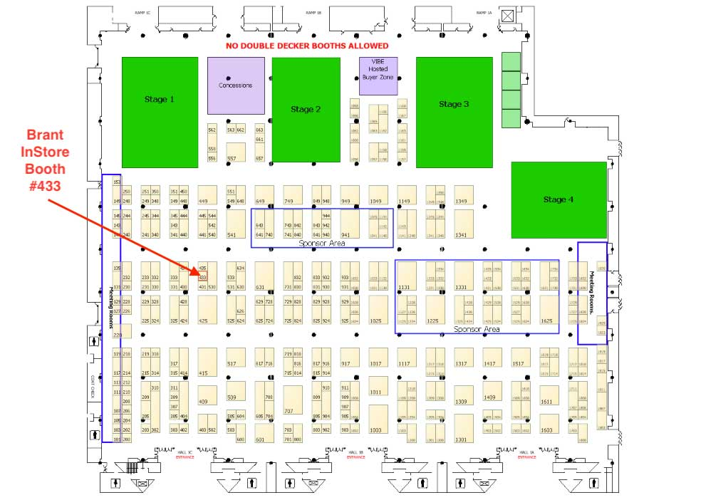 Brant InStore NRF Booth #433