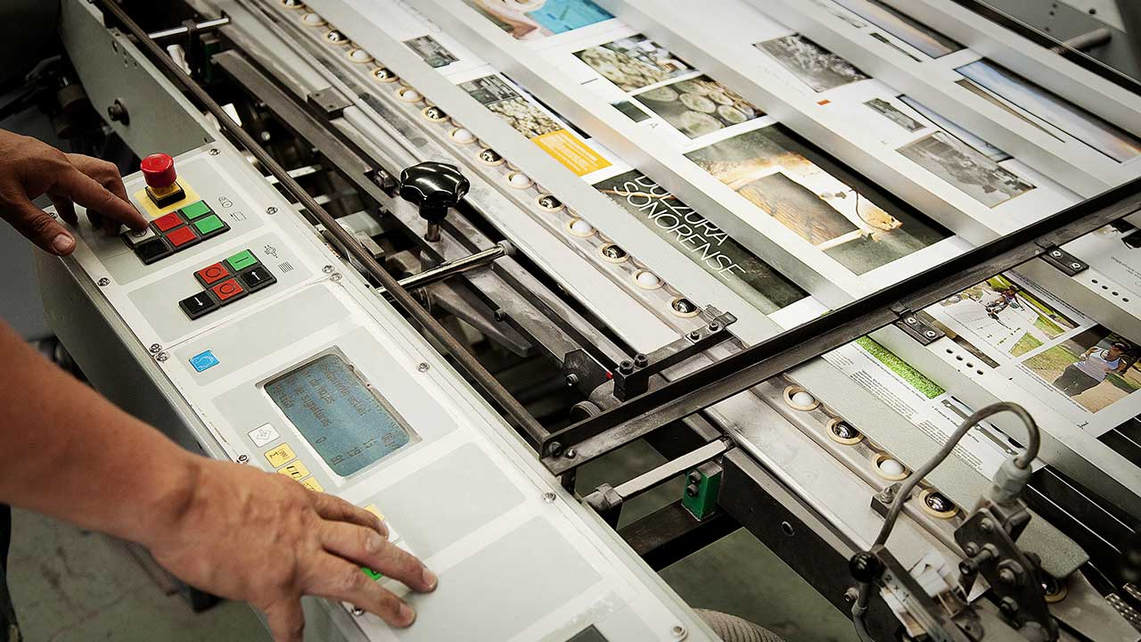 What are the Different Types of Commercial Printing?