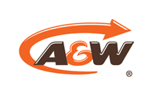 Logo for A and W restaurants
