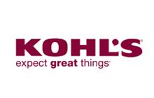 Logo for Kohl's stores