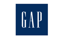 Logo for The Gap store